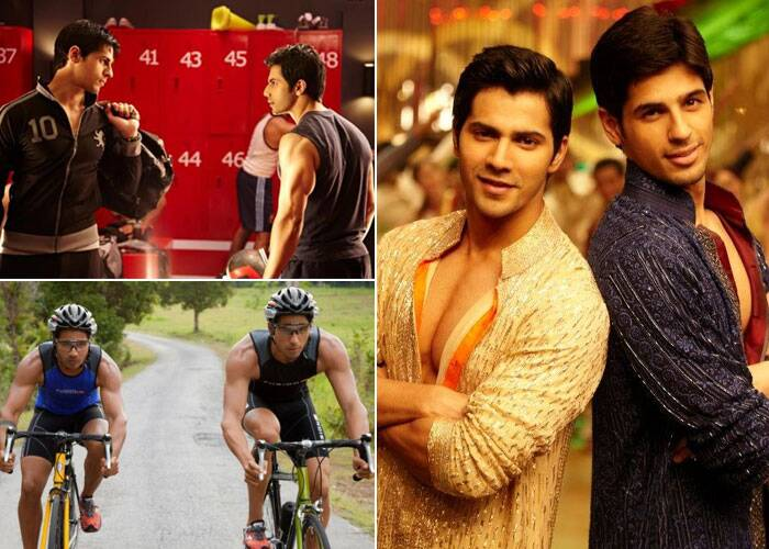 <b>Varun Dhawan-Sidharth Malhotra</b>: Newbies Varun Dhawan and Sidhrath Malhotra displayed the new age college bromance in Karan Johar's 'Student Of The Year'. The duo showed all traits of 21st century best buddies, who challenged each others' strengths and stand by each other in their thick and thin. Their characters on the one hand had each others' back and on the other wanted to outdo each other. Their friendship stands as an example of the friends who are rivals in a good way!