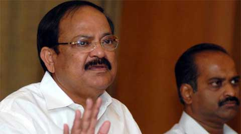 Venkaiah said vote for Third Front meant vote for Congress. (PTI)