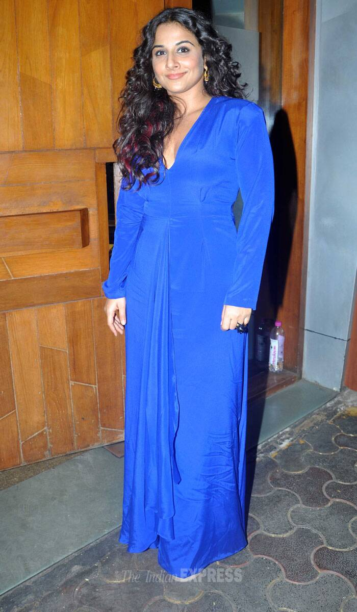 Vidya Balan feels the blues, parties with Dia