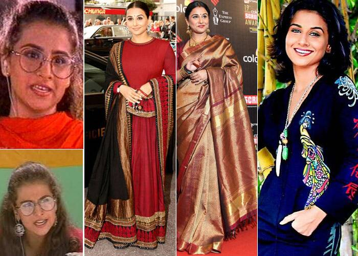 <b>Vidya Balan</b>: This national award winning actress first gained popularity for her role in television series 'Hum Paanch'. After which she was seen in Bengali film 'Bhalo Theko'. Bollywood film 'Parineeta' marked her B-Town debut. In her initial years, Vidya Balan received a lot of flak for her sense of style. However, she shunned her critics when designer Sabyaschi became her all time favourite. The Cannes Film Festival last year, saw some of the actress' best ethnic looks till date.