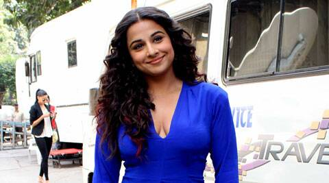 Vidya Balan has been spotted frequently at a suburban hospital.