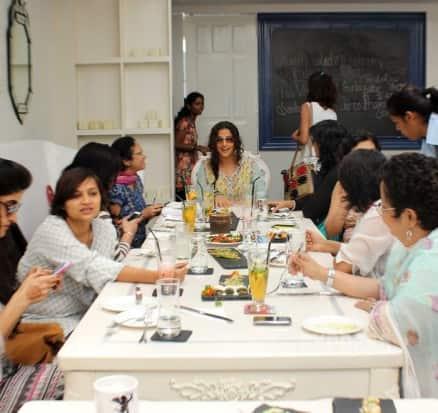 Vidya Balan's brunch date with GFFs
