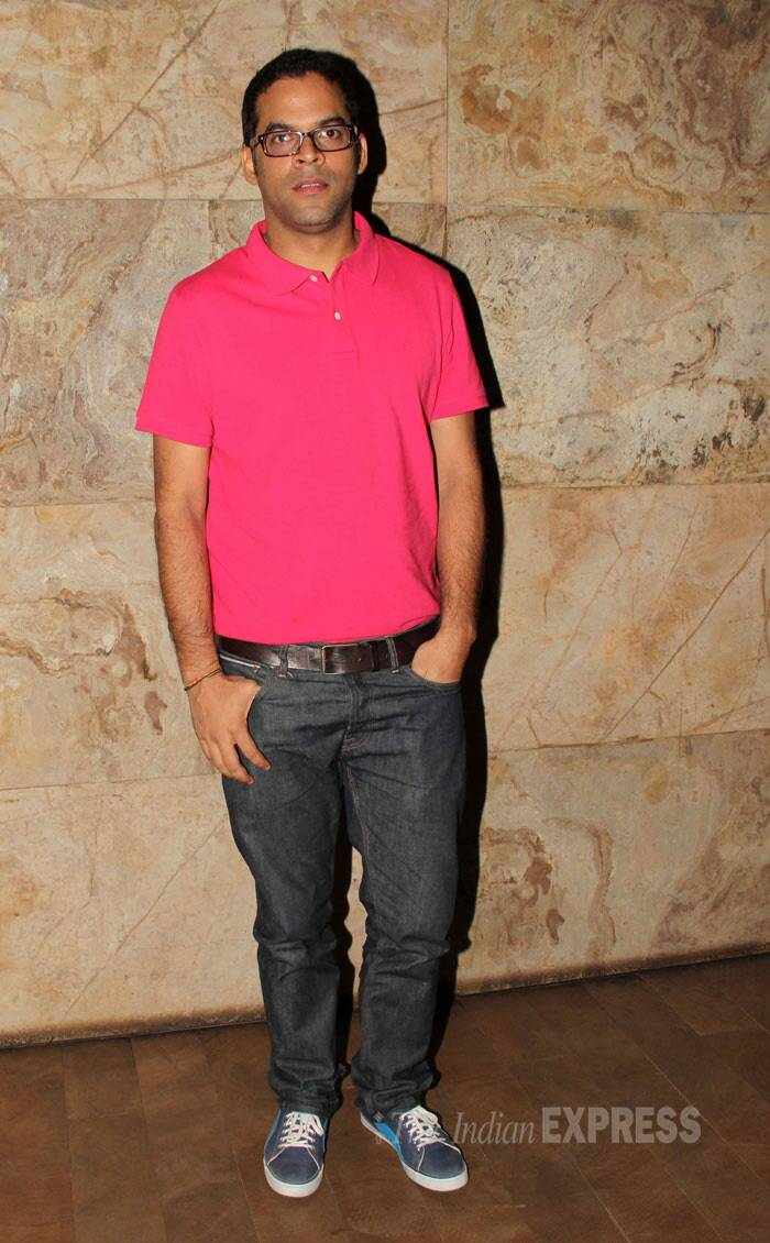 'Lootera' director Vikramaditya Motwane strikes a pose sans a smile. (Photo: Varinder Chawla)