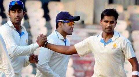 Vinay Kumar's four wickets in the second innings also helped him to end with an impressive match figures of 11 for 82