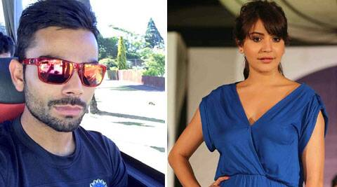 Anushka and Virat spotted in New Zealand.