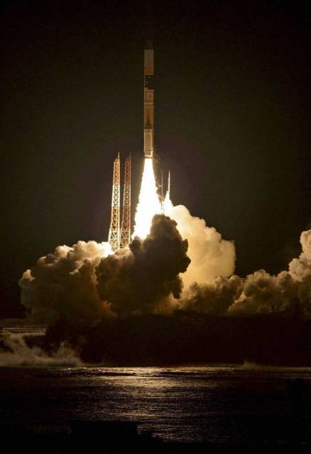 Japan launches gen-next weather satellite