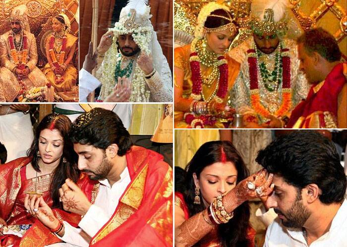 Abhishek and Aishwarya tied the knot on April 20, 2007 according to Hindu rituals in a private ceremony at the Bachchans' Juhu residence Prateeksha. It was a lavish affair attended by the who's who of Bollywood, politics.