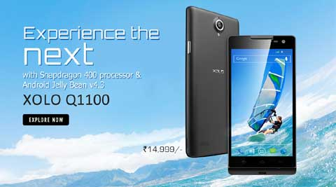 XOLO Q1100 comes with an 8 MP Auto Focus rear camera with BSI 2 sensor. (Courtesy: XOLO Website)