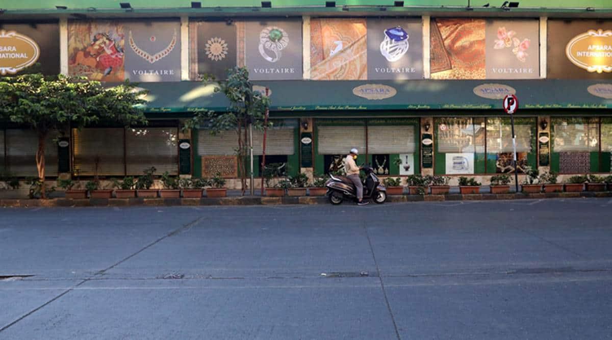 mumbai city news, colaba art galleries reopen, colaba covid, covid norms in mumbai, covid cases in mumbai, indian express