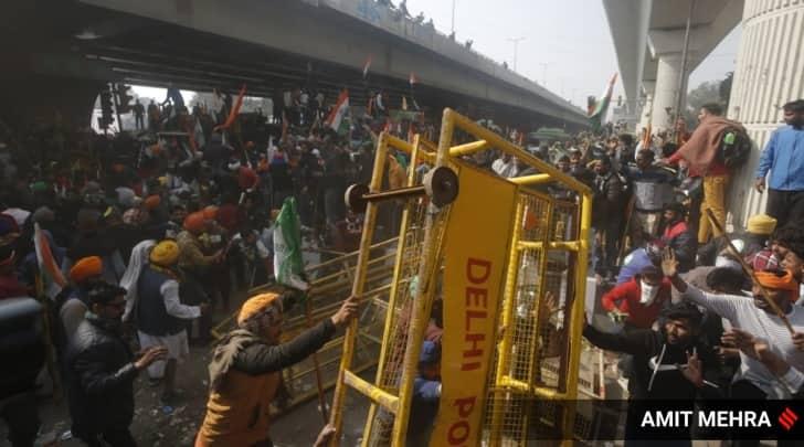 farmers protests delhi