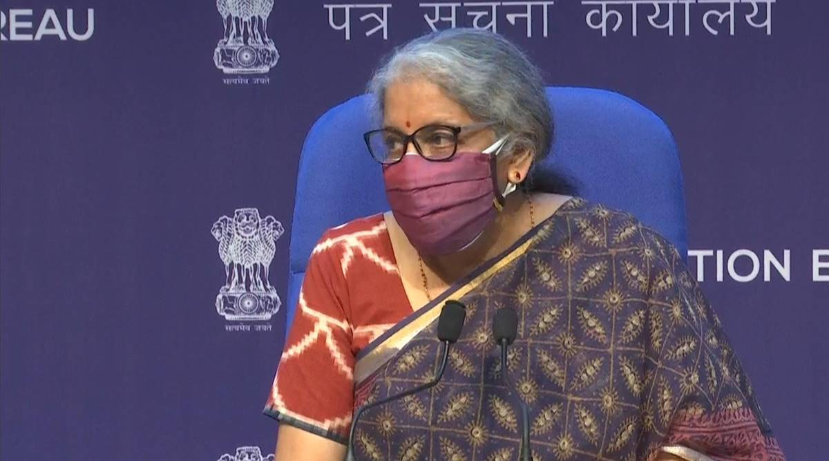 GST council meet, Nirmala Sitharaman, GSt council on vaccines, Indian economy, Covid-related goods import, revenue growth, economy news, Indian express news