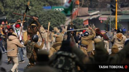 farmers protest, Delhi violence, farmers protest violence delhi, delhi farmers protest, BJP farmers protest, red fort farmers protest, FIRs in R-day violence, India news, indian express