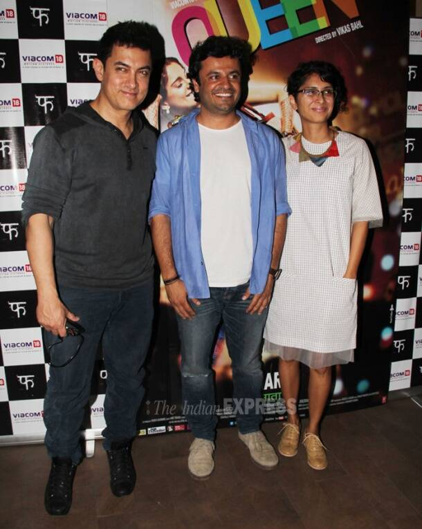 'Queen' Kangana's outing with Aamir Khan