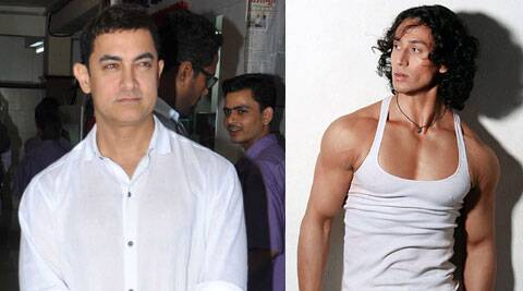 Aamir Khan will introduce Tiger Shroff to the media at the first look launch of Tiger's debut film Heropanti.