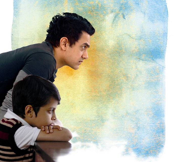 <b>Taare Zameen Par (2007)</b>: Aamir Khan made his directorial debut with 'Taare Zameen Par', where he played the fun and understanding art teacher, who becomes the only adult to understand and recognize the potential in a boy suffering from dyslexia. <br /><br /> Aamir Khan won many hearts as he helps the child overcome the learning disability and also beautifully conveyed a message to his audience. It won the Filmfare Best Film Award for 2008 as well as a National Award. It also received the Filmfare for best director.
