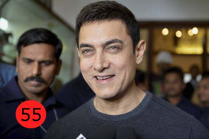 Aamir Khan, 48 – Actor, producer<br />WHY:Aamir Khan only competes with Aamir Khan. As Dhoom 3 rakes in Rs 284.27 crore and becomes the biggest all-time hit, Aamir retains his position as Mr Blockbuster.  He is the only actor with two films in the 200-crore club. <br />BY THE WAY: He is a huge fan of Calvin and Hobbes and has an entire collection of the comic strip.