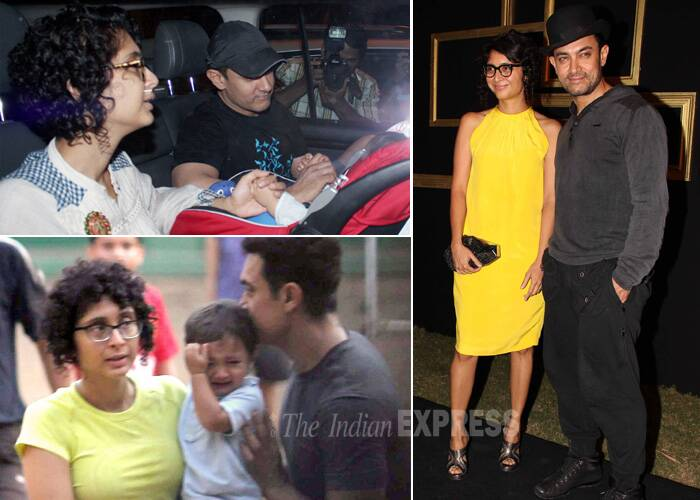 Aamir Khan then married Kiran Rao, who was an assistant director on the sets of his production venture 'Lagaan'. They have a three-year-old son – Azad Rao Khan, who was born through surrogacy.
