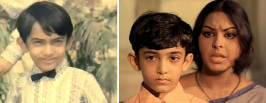Coming to his professional life, Aamir Khan made his first onscreen debut as a child at the age of eight in a highly popular song in the Nasir Hussain-directed musical film 'Yaadon Ki Baaraat' (1973). The following year, he portrayed the younger version of Mahendra Sandhu's character in his father's production 'Madhosh' (1974).