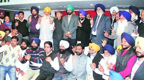 "Balwinder Singh Bains, MLA from Ludhiana South and elder brother of Simarjeet Singh Bains said, ""Two of our councillors who recently extended their support to SAD were forced to do so."