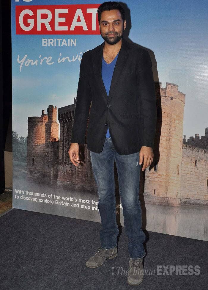Heartthrob Abhay Deol also attended the 'Bollywood in Britain' app launch. (Photo: Varinder Chawla)