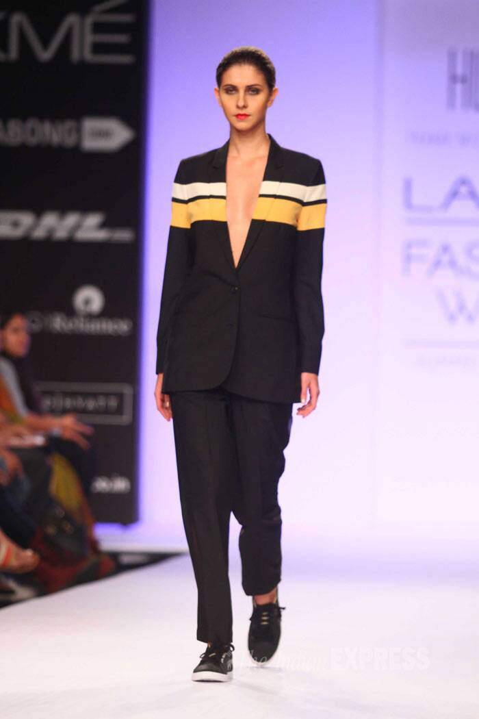 Huemn is both a menswear and womenswear label. (IE Photo: Amit Chakravarty)