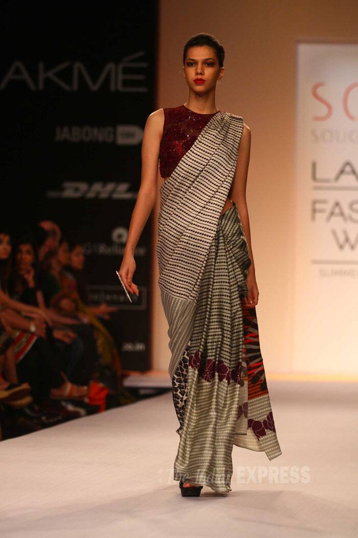 Designer Sougat Paul's label SOUP has been at the receiving end of accolades the world over. (IE Photo: Amit Chakravarty)