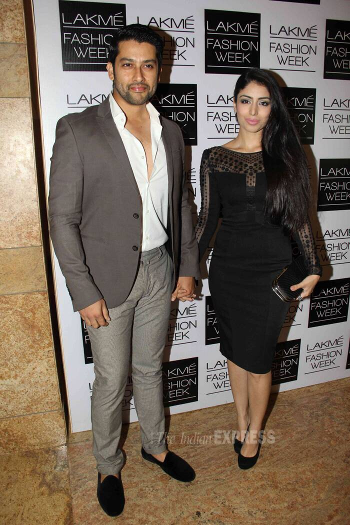 Aftab Shivdasani was suave as he came hand-in-hand with his girlfriend Nin. (Photo: Varinder Chawla)