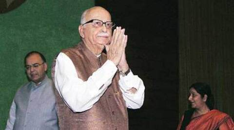 The former deputy prime minister expressed his desire to contest from Gandhinagar in Gujarat.