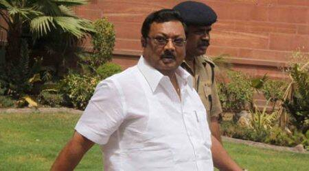 Alagiri said he had to fight for three years to get affiliation for his college, for which state authorities had placed several hurdles. (IE Photo)