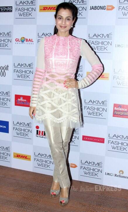 LFW 2014: Sonakshi walks the ramp for Manish Malhotra; Kajol, Kangana show support