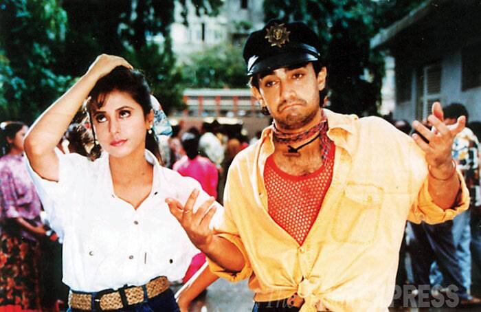 <b>Rangeela (1995)</b>: Aamir Khan's role as 'tapori' Munna – a street orphan boy in Ram Gopal Varma was a turning point in his career. His chemistry with lead actress Urmila Matondkar was much appreciated and this is said to be one of his finest performances till date. The film received seven filmfare awards that year.