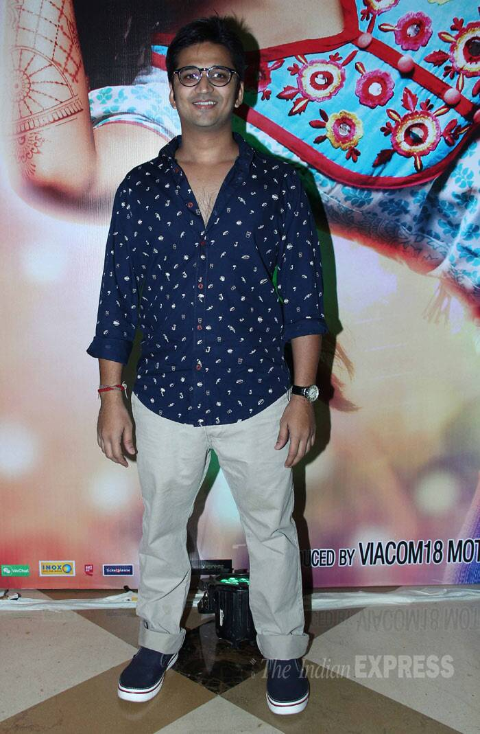 Amit Trivedi, who has composed the music for the film, was also present for the success bash. (Photo: Varinder Chawla)