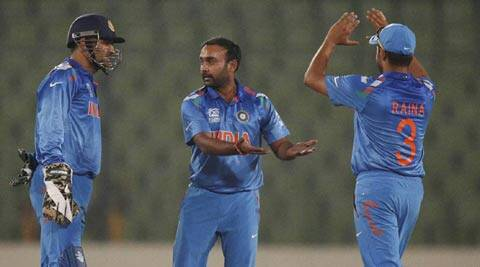 Amit Mishra has taken four wickets in the two matches of the ICC World Twenty20 so far (AP)
