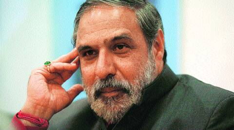 Union Minister of Commerce and Industry Anand Sharma. (IE Photo: Renuka Puri)