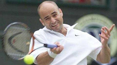 Andre Agassi was selected for Singapore along with Serena Williams and Czech Tomas Berdych (File)