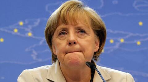 Putin told Merkel that the steps taken by his government were intended to defend Russia's interests. (AP)