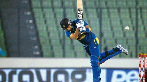 Captain Angelo Mathews made 74 (not out) to dig Sri Lanka out of a hole in a low-scoring chase (AP)