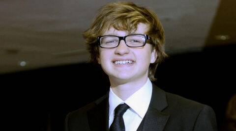 Angus T Jones has taken a break from acting now and said he might star in religious-themed productions in the future. (Reuters)