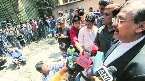 Public prosecutor Ujjwal Nikam outside the sessions court on Monday. Ganesh Shirsekar