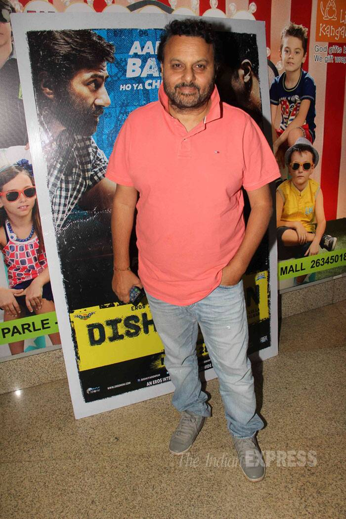 Gadar - Ek Prem Katha director Anil Sharma was also seen at the screening. (Photo: Varinder Chawla)