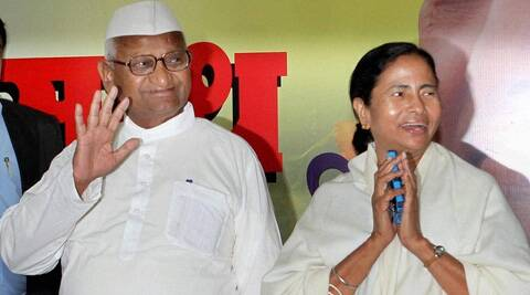Anna had declared that he supports Banerjee as the prime ministerial nominee.