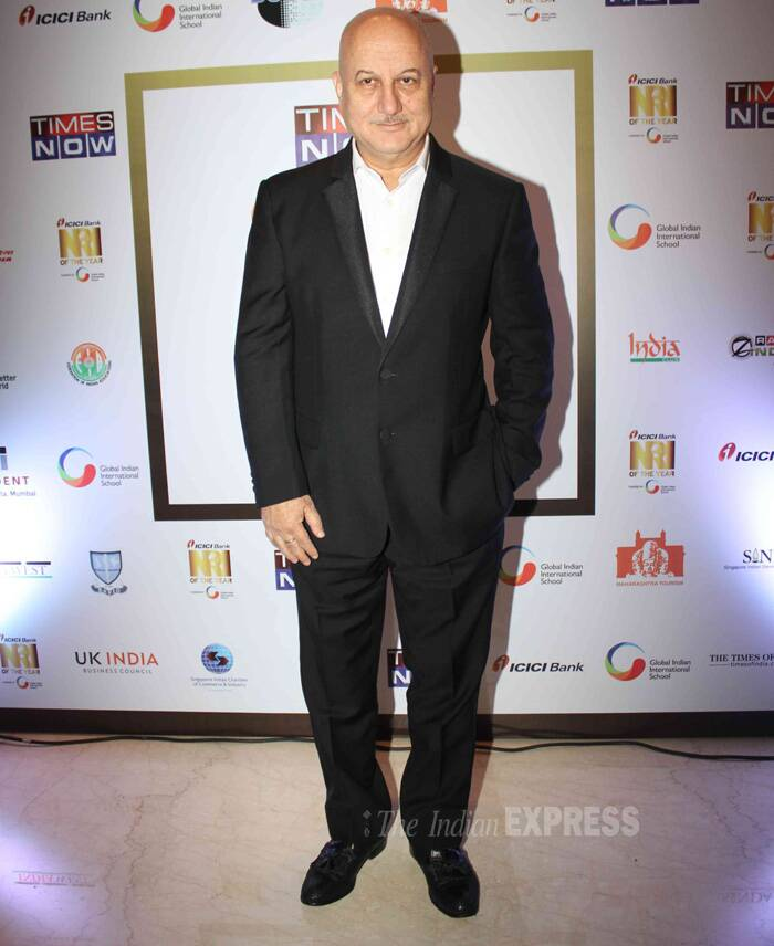 Actor Anupam Kher was also spotted at the event. (Photo: Varinder Chawla)