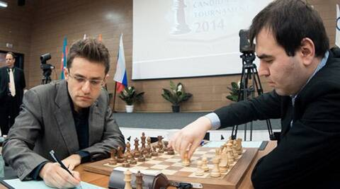 Top-seed Levon Aronian lost to Shakhriyar Mamedyarov on Sunday's Candidate Chess encounter. (FIDE)