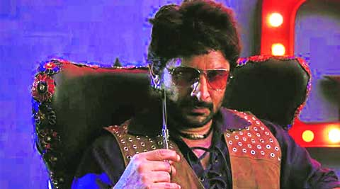 Arshad Warsi in one of his looks in The Legend of Michael Mishra