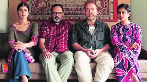 (from left) Tabasheer Zutshi, Avijit Mukul Kishore, Michael Northam and Shumona Goel.