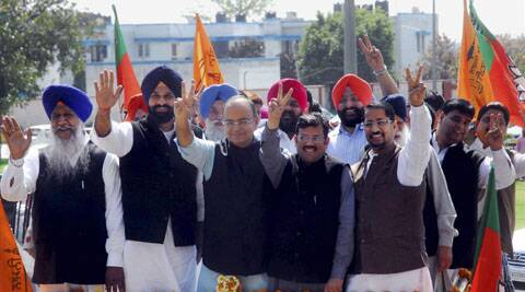 Arun Jaitley is set to contest his first-ever parliamentary election from Amritsar.