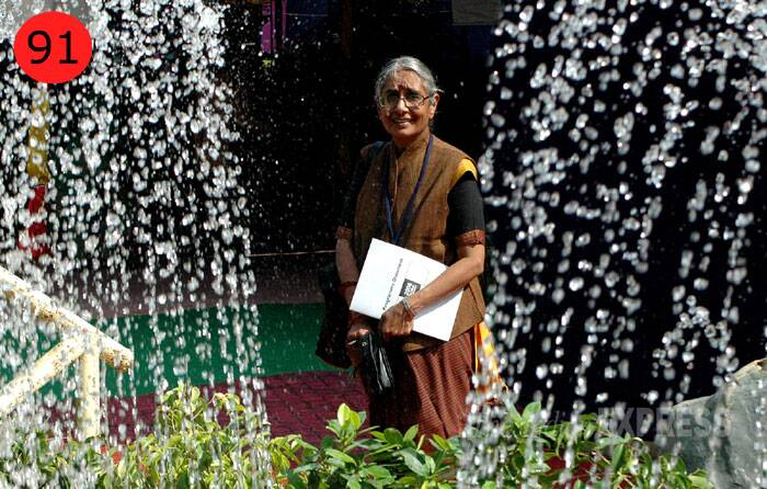 <b>Aruna Roy</b> (67),  Bureaucrat-turned-activist<br /> <b>WHY</b>: With one-time associate Kejriwal turning to politics, it is now on Roy to take RTI forward, especially during troubled times when the conflict between the CIC order on parties being under the ambit of the transparency law and Parliament's dogged resistance to it is unlikely to resolve anytime soon.