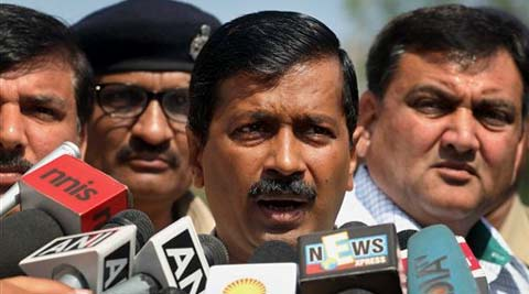 "Asked if Kejriwal will be arrested, the DSP said, ""We shall keep this open-ended, but no arrest has been made so far."" (AP)"