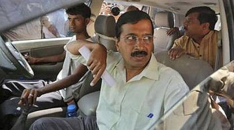 Arvind Kejriwal says small businesses in Narendra Modi's Gujarat are being shuttered. (Reuters)