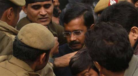 A senior Delhi Police officer added that a temporary structure had been constructed at Kejriwal's Tilak Lane residence in Lutyens' Delhi to accommodate the security personnel. Archive